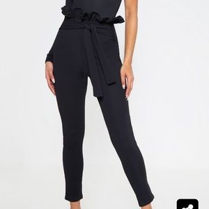 Pretty Little Thing Perlita Paperbag Trousers